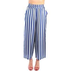Vêtements Femme Pantalons fluides / Sarouels Altea 1953515 longue Femme Bleu Bleu