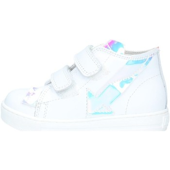Chaussures Fille Baskets montantes Falcotto FEBE 001.2014627.02 BLANC