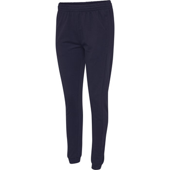 Vêtements Femme Pantalons de survêtement Hummel Pantalon femme  hmlgo cotton bleu marine