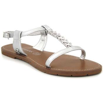 Chaussures Femme Sandales et Nu-pieds Chattawak Petunia Argenté