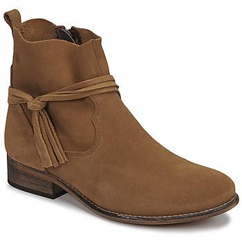 Chaussures Femme Boots Betty London NENESS Camel