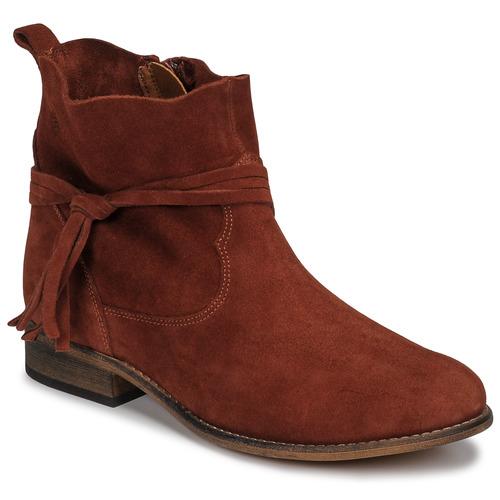 Chaussures Femme Boots Betty London NENESS Brique