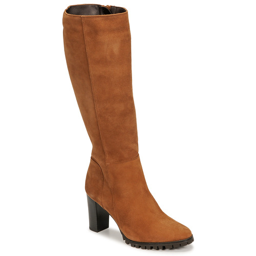 Chaussures Femme Bottes ville Betty London NOEME Camel
