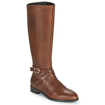 Chaussures Femme Bottes ville Betty London NILOU Camel