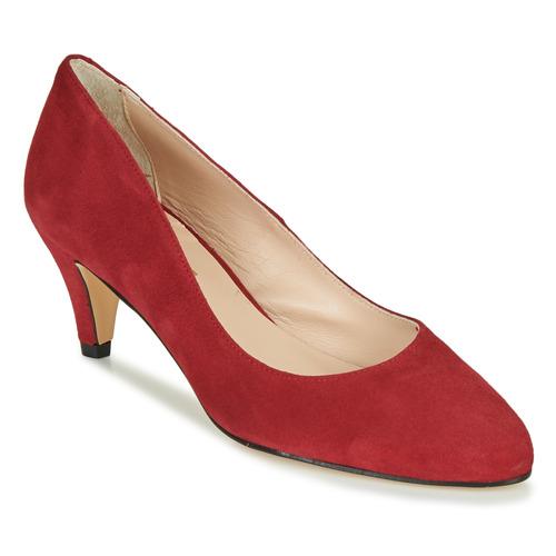 Chaussures Femme Escarpins Betty London NESLIE Rouge foncé