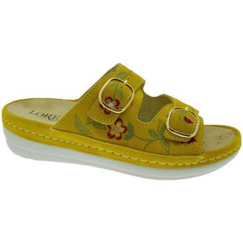 Chaussures Femme Mules Calzaturificio Loren LOB5021gi rosso
