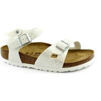 Chaussures Fille Sandales et Nu-pieds Birkenstock BIR-RRR-1008286-WH Bianco