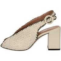 Chaussures Femme Sandales et Nu-pieds Gianmarco Sorelli 2883/BUY BLANC SALÉ
