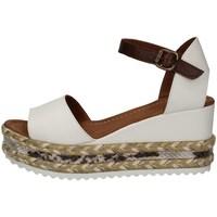 Chaussures Femme Sandales et Nu-pieds Bueno Shoes Q6000 BLANC