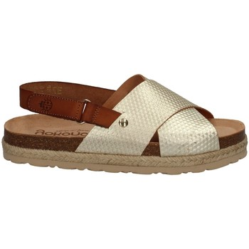 Chaussures Femme Sandales et Nu-pieds Yokono JAVA-065 PLATINE