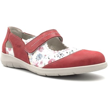 Chaussures Femme Ballerines / babies Suave 6640MS Rouge
