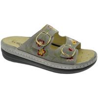 Chaussures Femme Mules Calzaturificio Loren LOB5021ta tortora