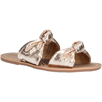 Chaussures Femme Mules Pepe jeans PLS90410 MALIBU LACES Gold