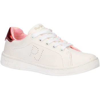Chaussures Fille Multisport Pepe jeans PGS30337 BROMPTON FP Blanco
