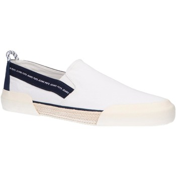 Chaussures Homme Slip ons Pepe jeans PMS10277 CRUISE SLIP ON Blanco