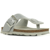 Chaussures Fille Tongs Kickers Summeriza argent