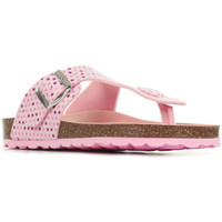 Chaussures Fille Tongs Kickers Summeriza rose