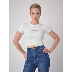 Vêtements Femme T-shirts manches courtes Project X Paris Tee Shirt Blanc