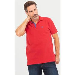 Vêtements Homme Polos manches courtes TBS LUNNIPOL Rouge