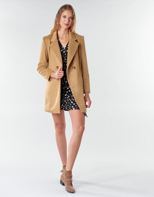 Vêtements Femme Manteaux Betty London LORDLY Beige
