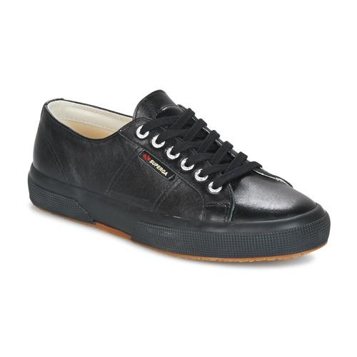 Superga 2750 FGLU Noir - Livraison Gratuite avec - Chaussures Baskets basses