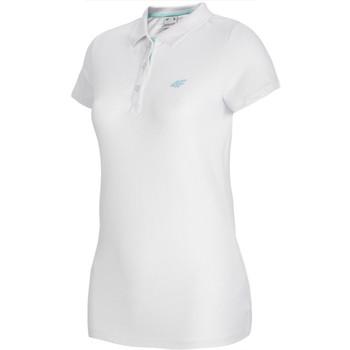 Vêtements Femme Polos manches courtes 4F Women's T-shirt Polo Blanc