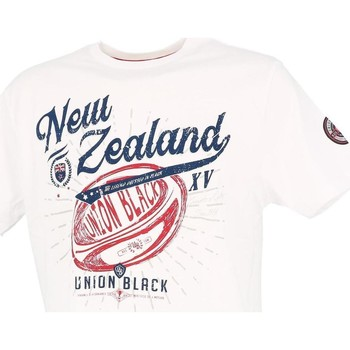 Vêtements Homme T-shirts manches courtes Union Black Lord new zealand tee blc Blanc