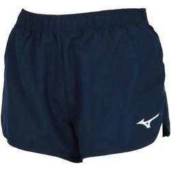 Vêtements Femme Shorts / Bermudas Mizuno Premium running femme short Bleu marine / bleu nuit