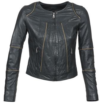 Vêtements Femme Vestes en cuir / synthétiques Kookaï VIDITE Noir