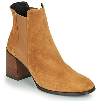 Chaussures Femme Bottines Fericelli NONUTS Camel
