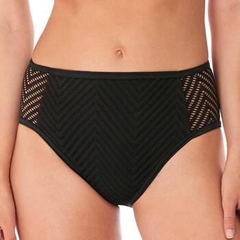 Vêtements Femme Maillots de bain séparables Freya Slip de bain taille haute Urban night Noir