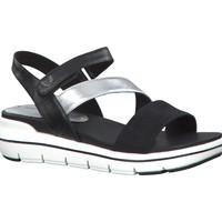 Chaussures Femme Sandales et Nu-pieds Marco Tozzi VEGAN Noir
