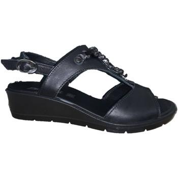 Chaussures Femme Sandales et Nu-pieds Enval 5280500 Black