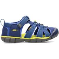 Chaussures Enfant Sandales et Nu-pieds Keen Seacamp II Cnx Graphite,Olive,Bleu