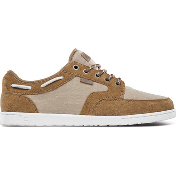 Chaussures Chaussures bateau Etnies DORY BROWN TAN WHITE