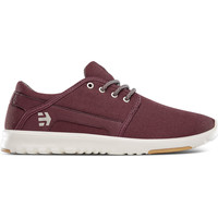 Chaussures Baskets basses Etnies SCOUT BURGUNDY TAN GUM