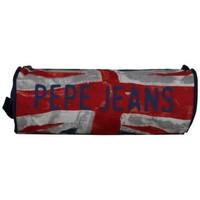 Sacs Enfant Trousses Pepe jeans Trousse  logo Anglais  ronde 1 compartiment Multicolor