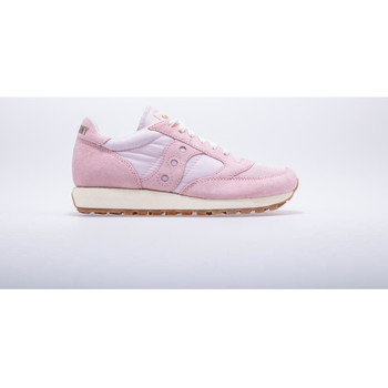 Chaussures Femme Baskets basses Saucony Lifestyle Chaussures femme Saucony  jazz original vintage rose