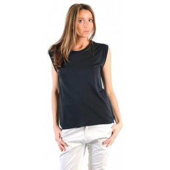 Vêtements Femme T-shirts manches courtes American Vintage TOP JAC60 CARBONE Gris