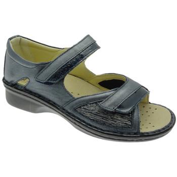 Chaussures Femme Sandales et Nu-pieds Calzaturificio Loren LOM2834bl blu