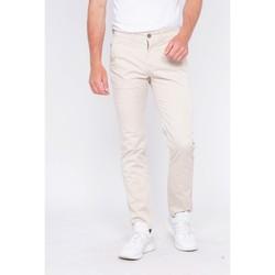 Vêtements Homme Chinos / Carrots Ritchie Pantalon chino CALES Beige