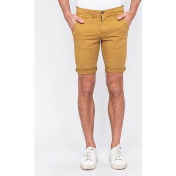 Vêtements Homme Shorts / Bermudas Ritchie Bermuda chino BOLSTER Jaune moutarde