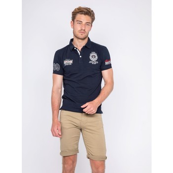Vêtements Homme Polos manches courtes Ritchie Polo PALBOA Bleu marine