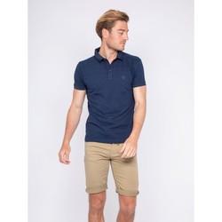Vêtements Homme Polos manches courtes Ritchie Polo pur coton PIBILOK Bleu marine