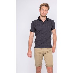 Vêtements Homme Polos manches courtes Ritchie Polo pur coton PIBILOK Noir