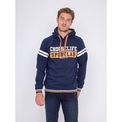 Vêtements Homme Sweats Ritchie Sweat capuche WONDER Bleu marine