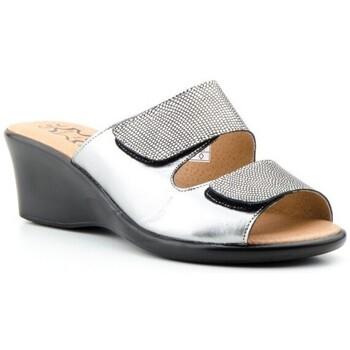 Chaussures Femme Mules Cbp - Conbuenpie  Argenté