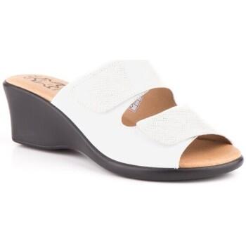 Chaussures Femme Mules Cbp - Conbuenpie  Blanc
