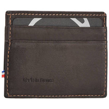 Sacs Homme Porte-Documents / Serviettes Etrier Porte-cartes Oil cuir OIL 080-0EOIL011 MARRON FONCE