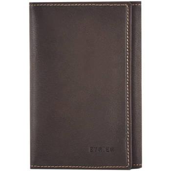 Sacs Homme Porte-Documents / Serviettes Etrier Porte-papiers porte-cartes cuir OIL 080-0EOIL024 MARRON FONCE